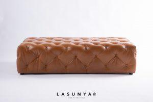 Urban leather ottoman lasunya1